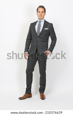 businessman, suit, tie