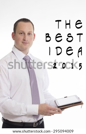 Businessman - The best idea 2015