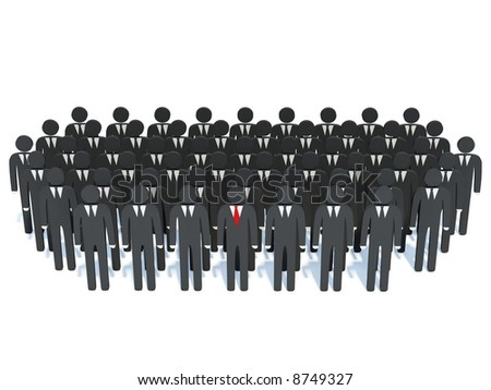 Businessmans - stock photo
