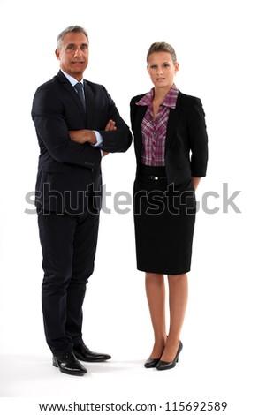 Businesspeople - stock photo