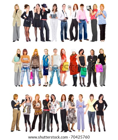 Businesspeople Workers Diversity - stock photo