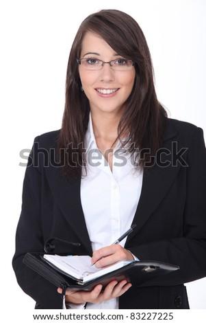 Businesswoman - stock photo
