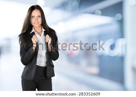 Businesswoman, Asian Ethnicity, Women. - stock photo