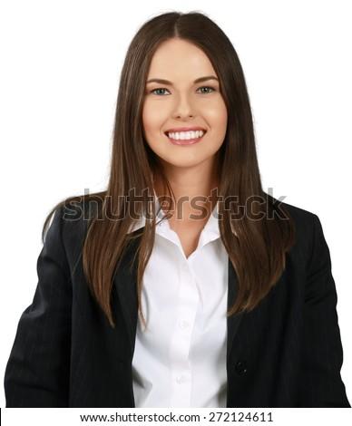 Businesswoman. Business woman # 4 - stock photo
