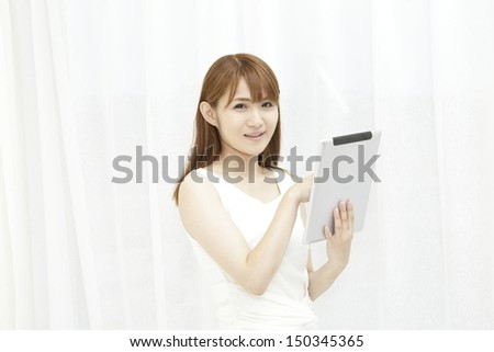 Businesswoman, Casual - stock photo