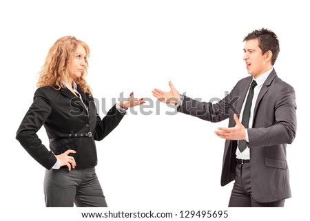 young man pointing his finger furiously stock photo male