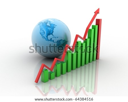 Bussiness growing concept - stock photo