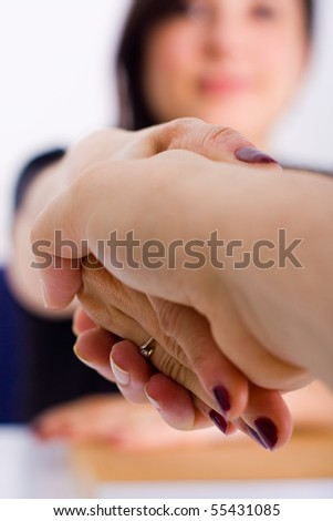 bussiness woman - stock photo