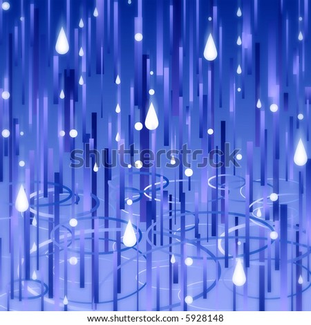 Busy rain texture (vector version also available in my library) - stock photo
