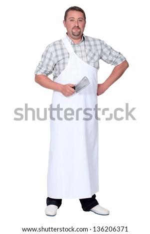 Butcher - stock photo