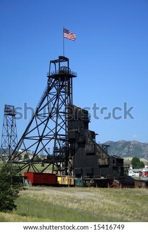 Butte Mine - stock photo