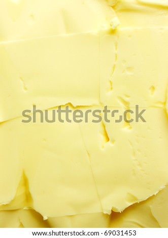 butter background - stock photo