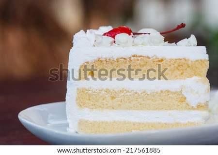 Butter Cake - stock photo
