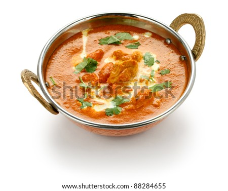 Chicken curry stock images royalty free images vectors - Herve cuisine butter chicken ...