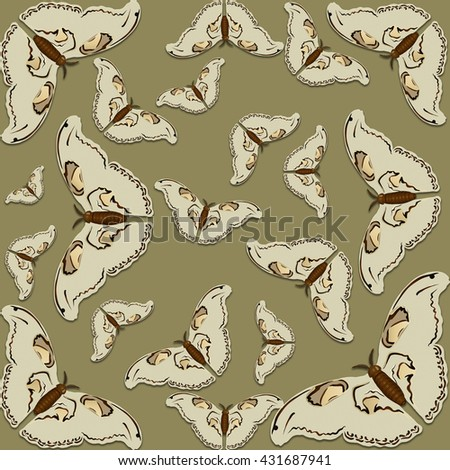 Butterflies - wallpaper.  Use printed materials, signs, posters, postcards, packaging.