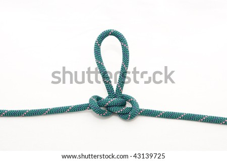 butterfly knot - stock photo