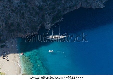 stock-photo-butterfly-valley-in-fethiye-