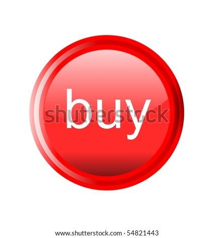 button buy - stock photo