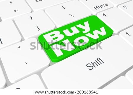 "Button ""Buy Now"" on keyboard"