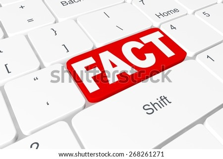 "Button ""FACT"" on keyboard"