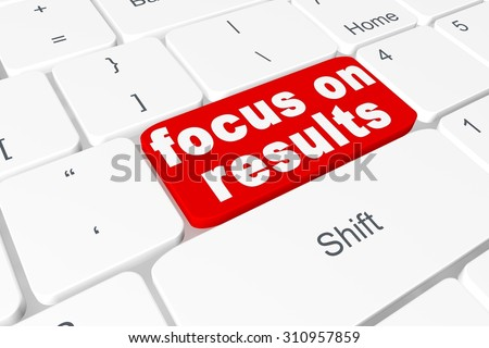 "Button ""focus on results"" on keyboard"