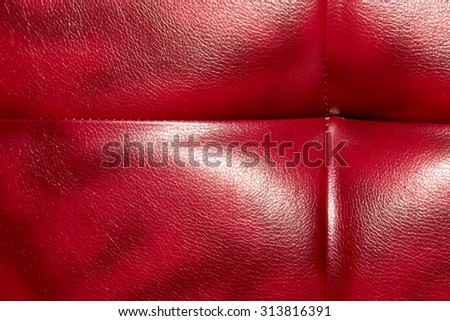 Buttoned on the red Texture. Repeat pattern - stock photo