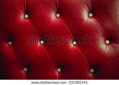 Buttoned on the red Texture retor color - stock photo