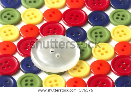 Buttons - stock photo
