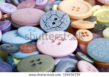 Buttons background - stock photo