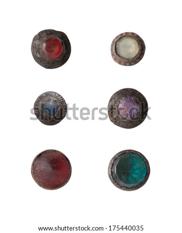 Buttons of the 17th century, Europe. - stock photo
