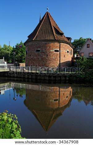 Buxtehude tower - stock photo