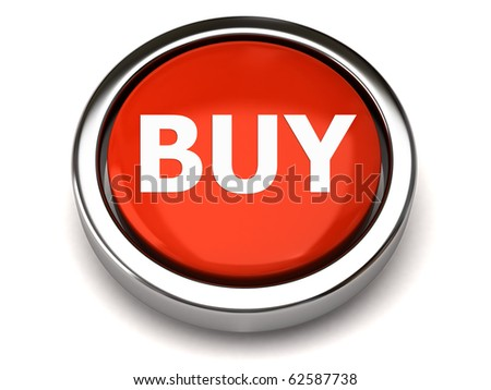 BUY button - stock photo