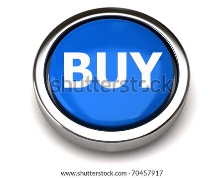 BUY button - stock photo