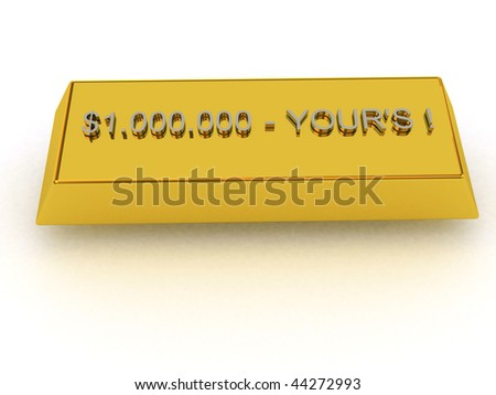 Buy it now and get whole year of LUCK! - stock photo