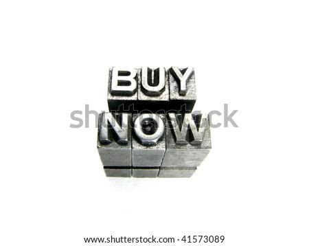 Buy Now - stock photo