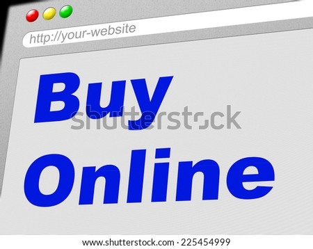 Buy Online Representing World Wide Web And Website