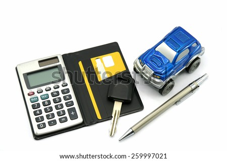 Buy Sell Car - stock photo