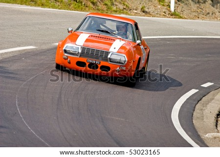 "BUZET, CROATIA - SEPTEMBER 20: Famous hill climb race in Croatia ""Days of Buzet"", September 20, 2009 Buzet, Croatia"