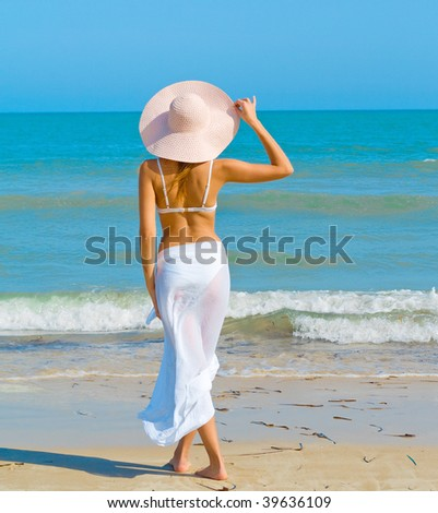 By serene waters - stock photo