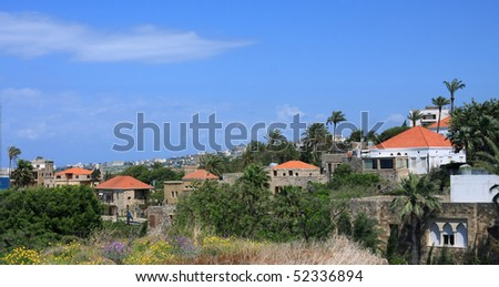 Byblos, Lebanon - stock photo
