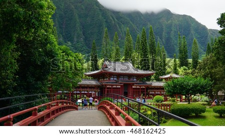 Byodo-In Temple, Kaneohe, Hawaii