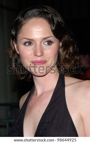 C.S.I. star JORJA FOX at the 3rd Annual TV Guide Awards in Los Angeles. 2001.    Paul Smith/Featureflash