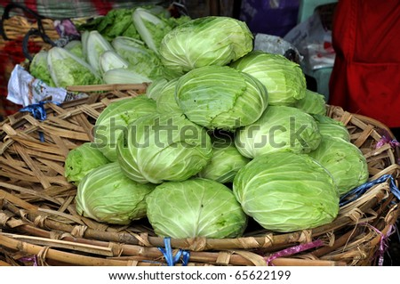 Cabbage Group Local Market