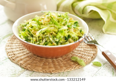Cabbage salad - stock photo