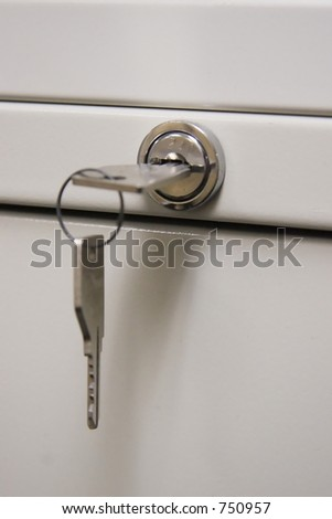Cabinet Key and Lock