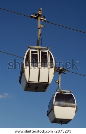 Cable-cars - stock photo
