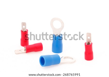 Cable connectors - stock photo