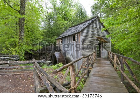 Cable Mill, Cades Cove, Great Smoky Mountains National Park