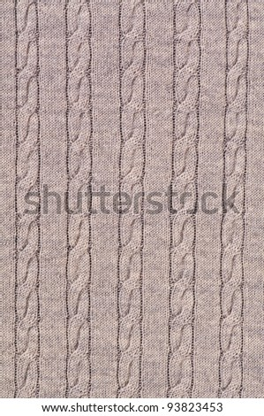 cable pattern - stock photo