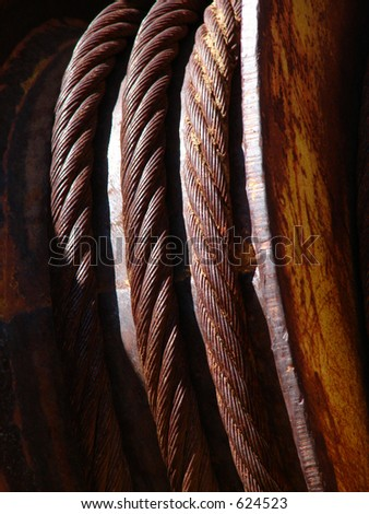Cable Pull - stock photo